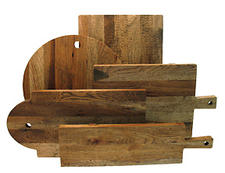 The Heritage Collection from J.K. Adams features five classic serving board designs from the 1700s, made from domestic hickory. jkadams.com