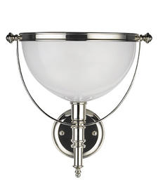 Having launched last June, Lauren by Ralph Lauren lighting complements the Ralph Lauren lifestyle. The Harper Sconce is one of the newest designs. poloralphlauren.com