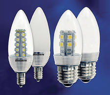 A frosted finish has been added to Bulbrite?s line of high-quality, high-performance chandelier LEDs. bulbrite.com