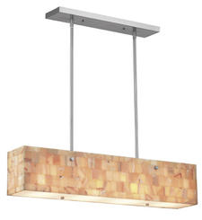 Salvaging small pieces of stone that would otherwise be discarded, Forecast?s new Onyx Mosaic Rectangle fixture joins its Organic Modern collection. forecastltg.com