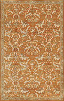 A centuries-old European tapestry is interpreted with a modern aesthetic in Jaipur?s Poeme collection. jaipurrugs.com