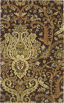 Traditional with a twist, style #A141-58 joins Surya?s Ancient Treasures collection, and is hand tufted in India. surya.com