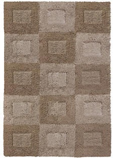 Orian Rugs gets shaggy with its new Big City collection, for which it used a blend of yarn sizes for a shag look with a woolen feel. orianrugs.com