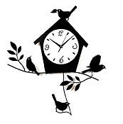 With garden-related items becoming more popular, Ashton Sutton will introduce its birdhouse wall clock with pendulum. Made of laser-cut metal with a black matte finish, the clock also has a frosted glass dial. The company also offers cat-oriented clocks, and dog versions are on the way. ashtonsutton.com