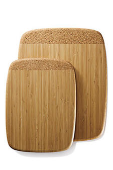 Known for its bamboo items, Bambu has continued its expansion into cork, based on the successful launch of its cork collection last year. A cutting board that uses both cork and bamboo?to combine the benefits of both?will debut at the show. bambuhome.com