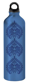 750 ml Water Bottle, Tres Medallion Design, $9.99. A perfect complement to yoga sessions. 877-989-6321, gaiam.com