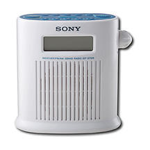 Shower Clock Radio, $47.99. Listen to music or news with 20 memory presets; includes built-in digital clock. 239-768-7547, bestbuy.com