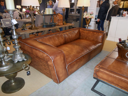 Amazing This Leather Sofa Shown By Hazen Kamp At Ambiente Features Wide Track Arms  And A Low Profile.