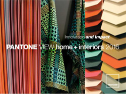Pantone reveals 2016 color trends for interiors home - 2017 pantone view home interiors palettes ...