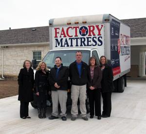 Factory Mattress donates to Texas Baptist's Children's