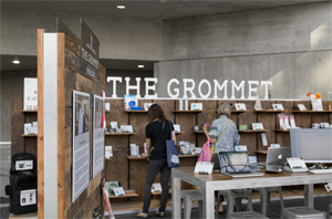 The Grommet booth