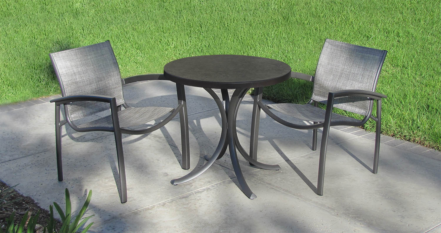 Tropitone Announces New Line Of Outdoor Table Tops Casual Living - Tropitone outdoor furniture