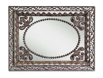 Melrose Filigree mirror