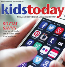 Kids Today digital cover for March april issue