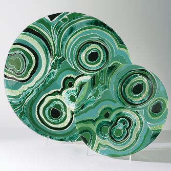 Global Views Malachite chargers
