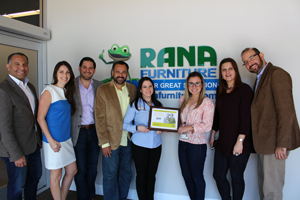Rana Furniture donates $20,000 to St. Jude | Furniture Today
