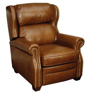 The Westwood Is One Of Seven New Domestically Produced Leather Recliners  BarcaLounger Is Unveiling This Week