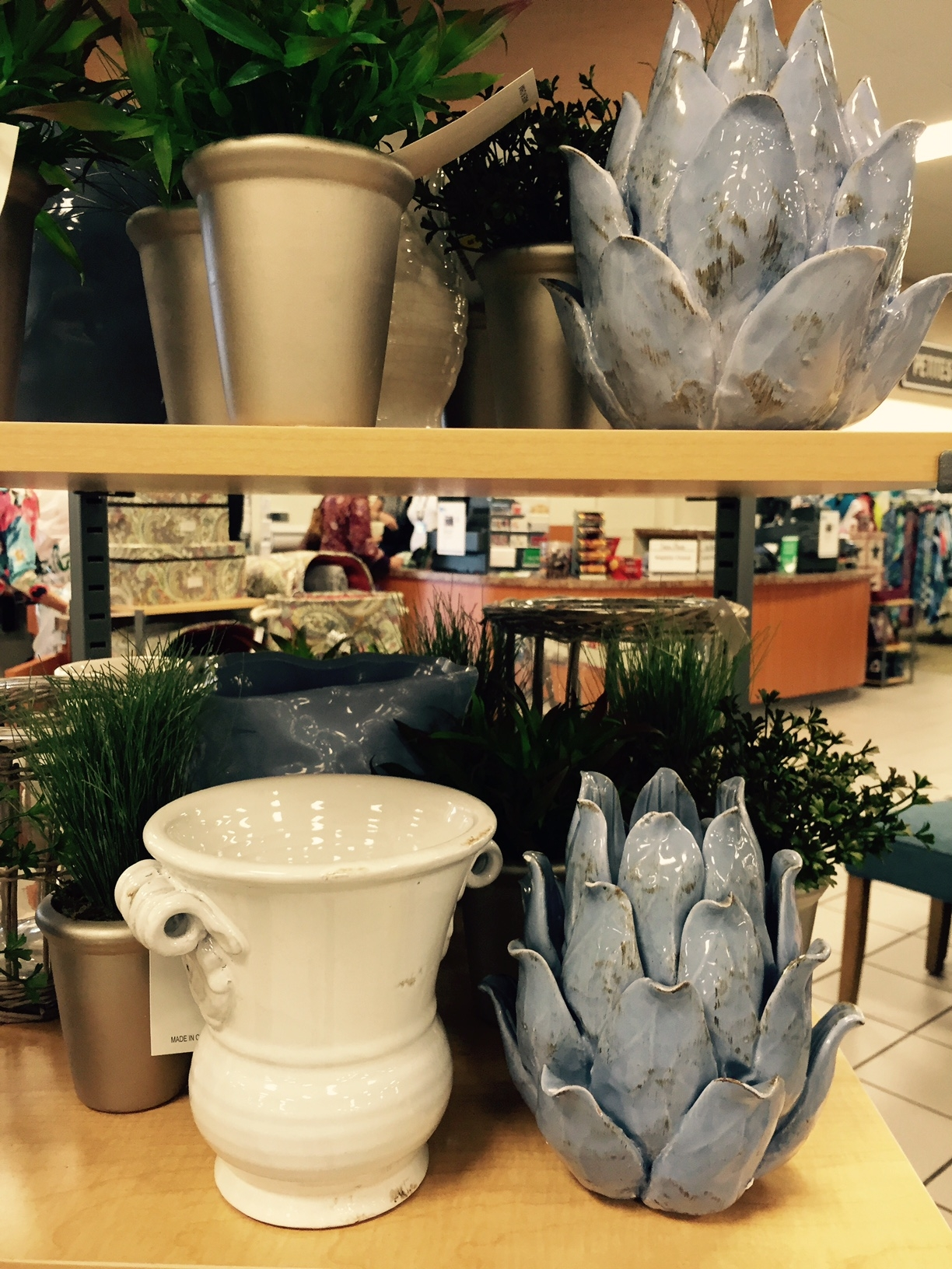 Nina campbell 39 s new home decor collections for stein mart april 2015 home accents today for Stein s garden home