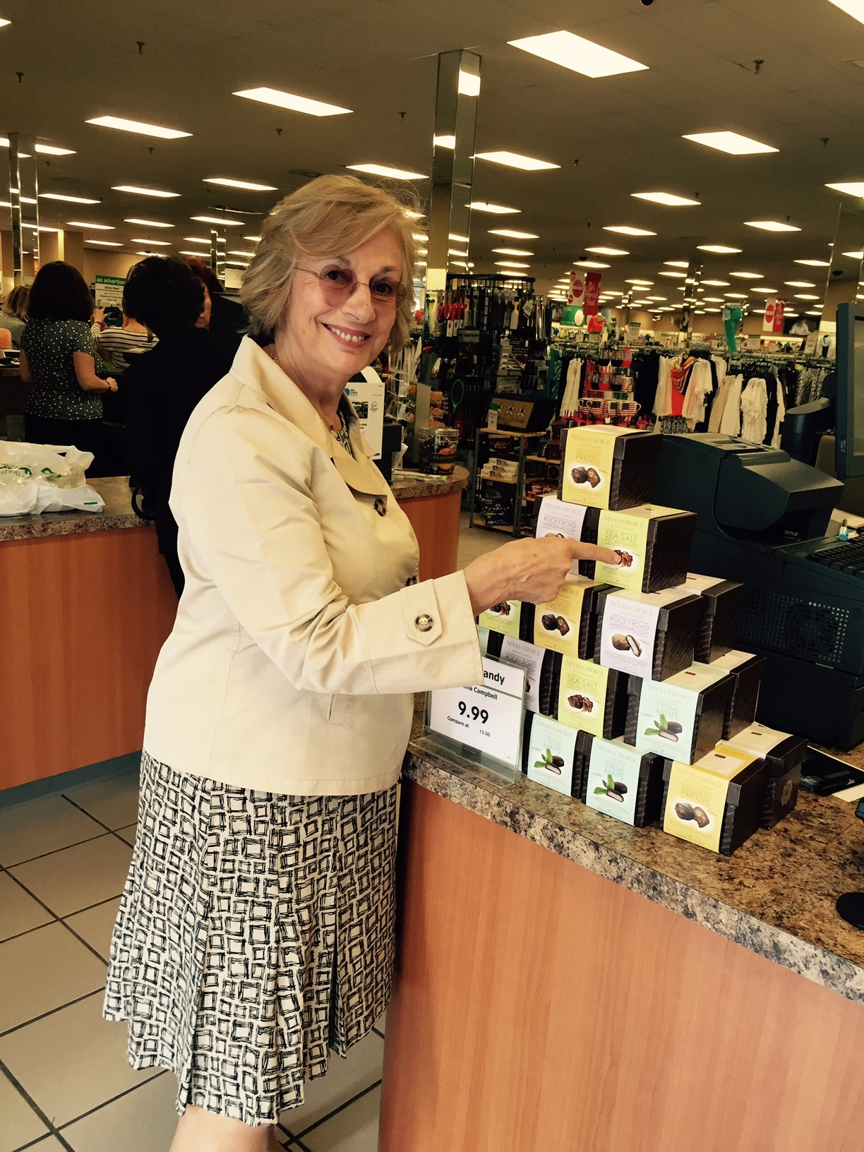 Nina Campbell S New Collections At Stein Mart Are Expanding Into The Gift Categories Stationery Wine Stoppers Candles Frames And Gourmet Chocolates