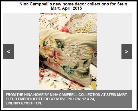 Nina Home By Nina Campbell For Stein Mart Slideshow