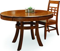 BORKHOLDER FURNITURE The Sunset Hill Dining Table Is Made With Solid Cherry  And Has Arts U0026 Crafts Design Elements.