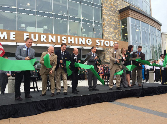 Nebraska Furniture Mart Ribbon Cutting