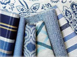 Dicey Fabrics' introductions offer a blue option for every style preference.