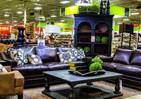 A Richly Accessorized Synergy Living Room Vignette Demonstrates How Weekends  Only Is Testing New Product Categories, Including Textiles, In The  Indianapolis ...
