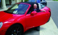 Furniture/Today's David Perry tries out a Porsche 911 Targa 4S, which has a starting retail of $116,000