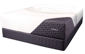 The Connect bed is part of Symbol's new four-model Unite line, a hybrid offering.