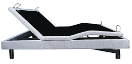 Customatic's new Equinox bed offers a full lounge position in a deck-on-deck design.
