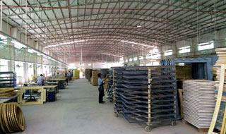 Majestic Mirror manufacturing facility