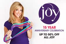 Joy Mangano Marks 15 Years with HSN