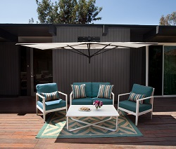 Merveilleux As Part Of Its 2016 Introductions, Treasure Garden Has Added The Veranda. A  Unique Shade Solution, The Veranda Mounts Directly To A Wall Without The  Need ...
