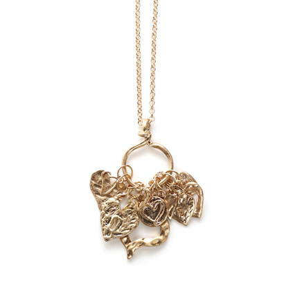 Heart necklace from Splendid Iris