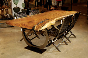 Phillips Collection Live Edge Table