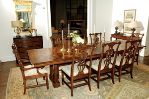 Lovely This Triple Pedestal Dining Table Has Been Added To The Mount Vernon  Collection At Harden Furniture