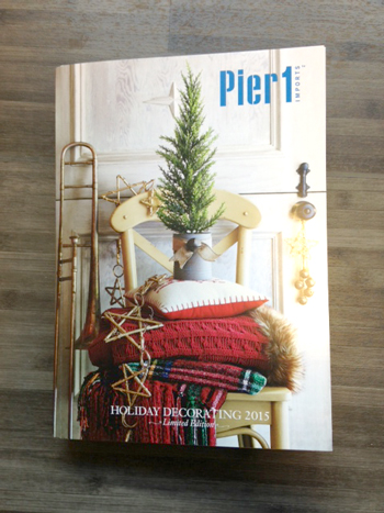 Pier 1. Check it out  Pier 1 s limited edition catalog   Home Textiles Today