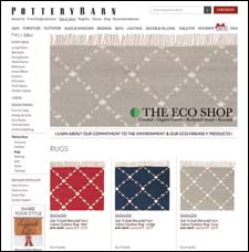 Pottery Barn Eco Shop