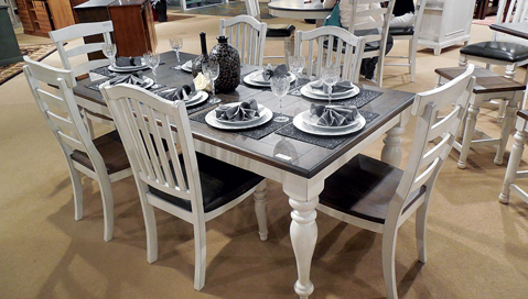 Dining Set For Bourbon County Collection