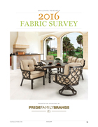 Casual Living Fabric Survey 2016