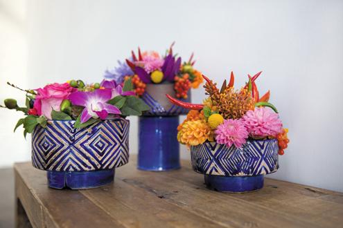 accent decor azul vases - Accent Decor