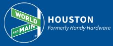 World and Main (Houston) logo