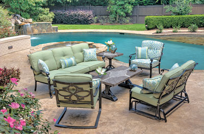 Dynasty Is A Cast Aluminum Deep Seating And Dining Set That Is Sure To Make  An