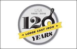 Lodge 120th anniversary logo