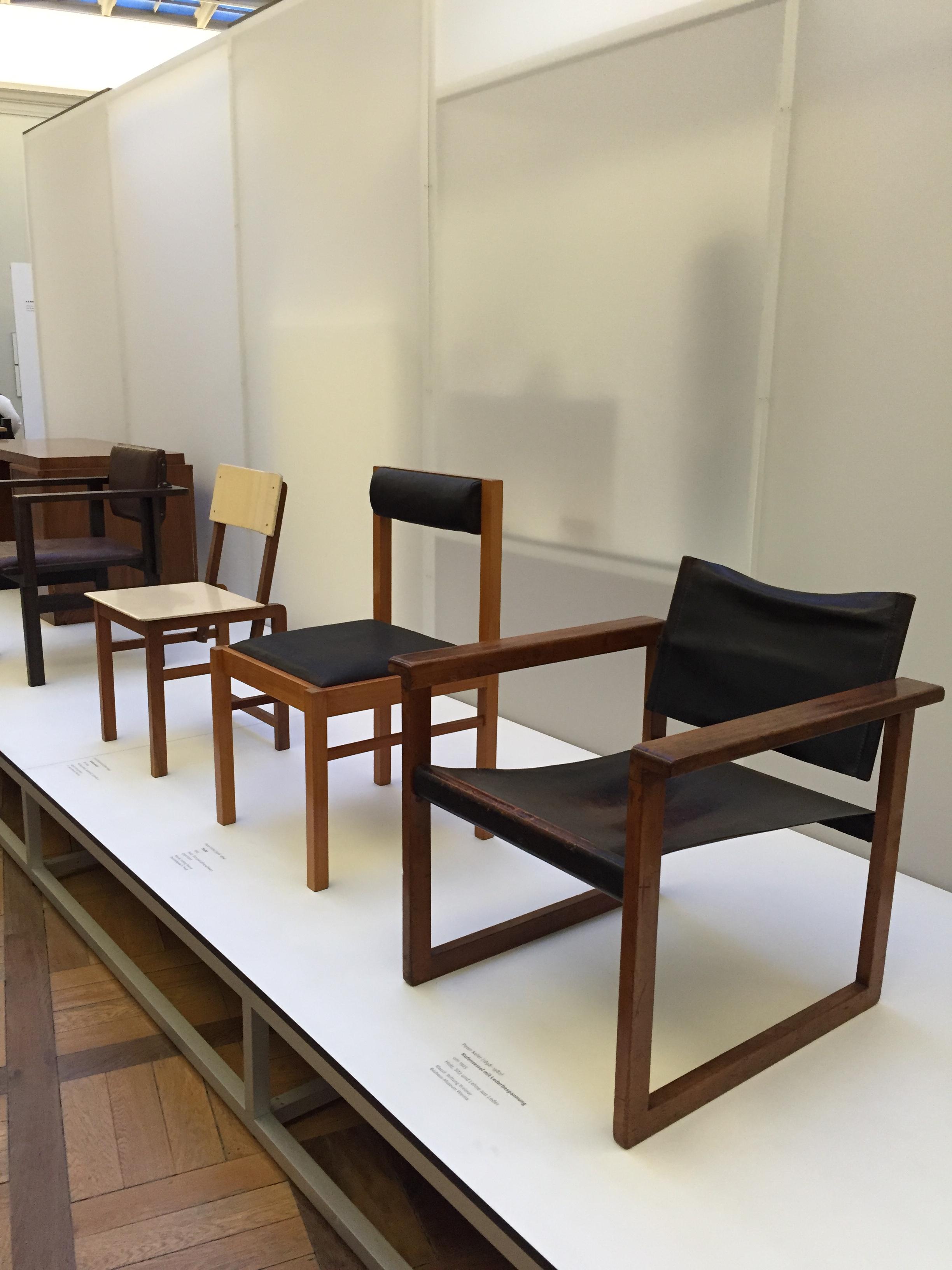 Bauhaus chair 1920 - Early Bauhaus Chairs