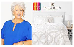 paula deen moves into bedding | home textiles today
