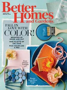 Better Homes & Gardens color issue