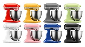 KitchenAid Mini The Artisan Miniu0027s Color Offerings