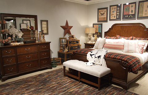 Rachael Ray Upstate bedroom